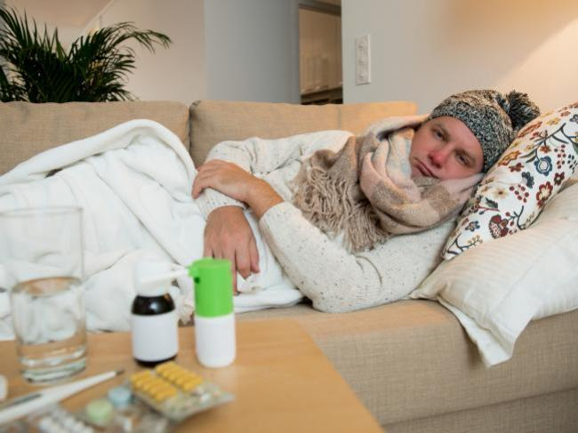 Do men really suffer more when they get the flu? Picture: iStock