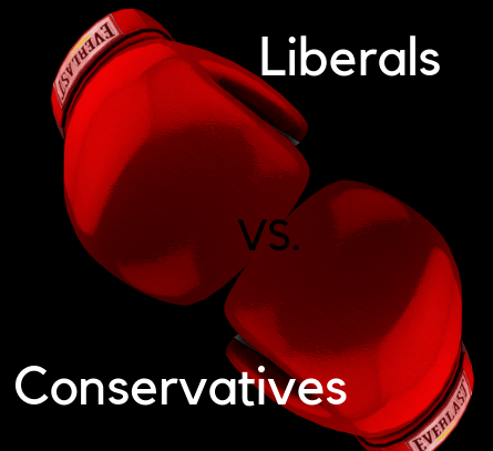 Liberals vs. Conservatives