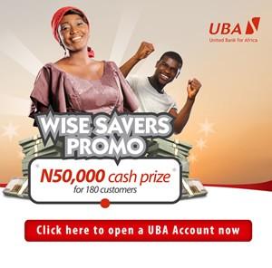 UBA Wise Savers Ad