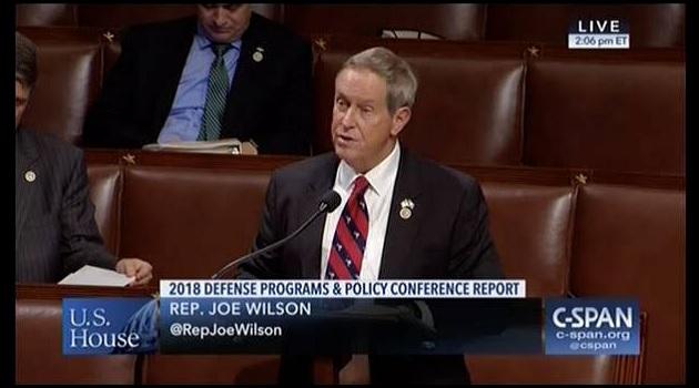 Wilson Praises House Passage of Bill