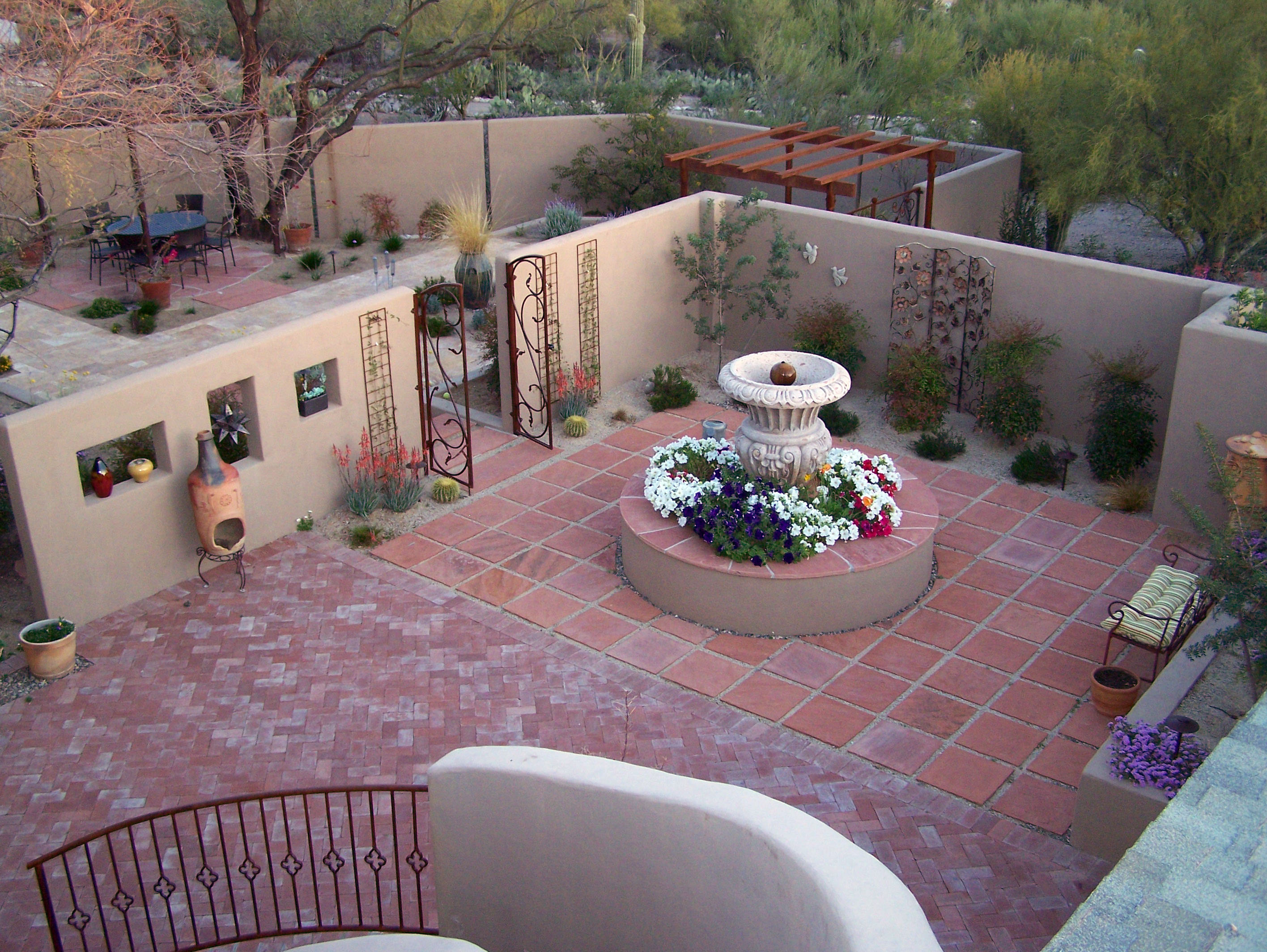 Thinking Big for a Backyard Redesign | The Lakota Group on Courtyard Patio Ideas id=42770