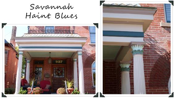 blue ceiling paint
