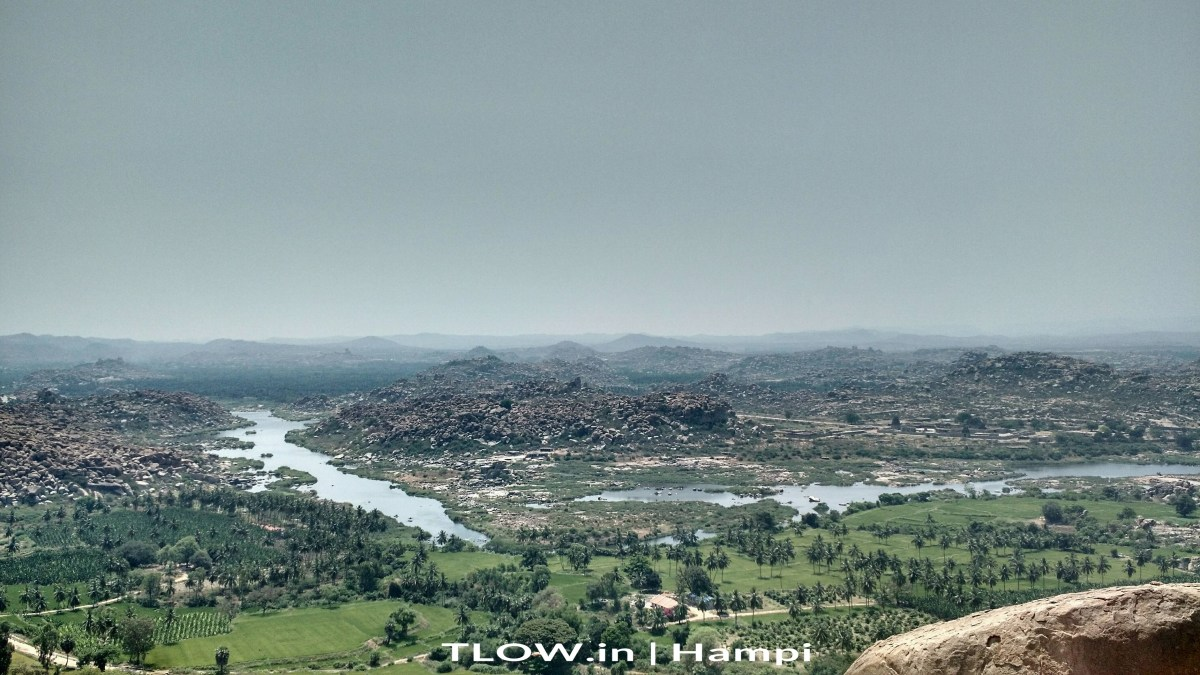 The Hampi Hippie Island: Virupapura Gadde, Karnataka