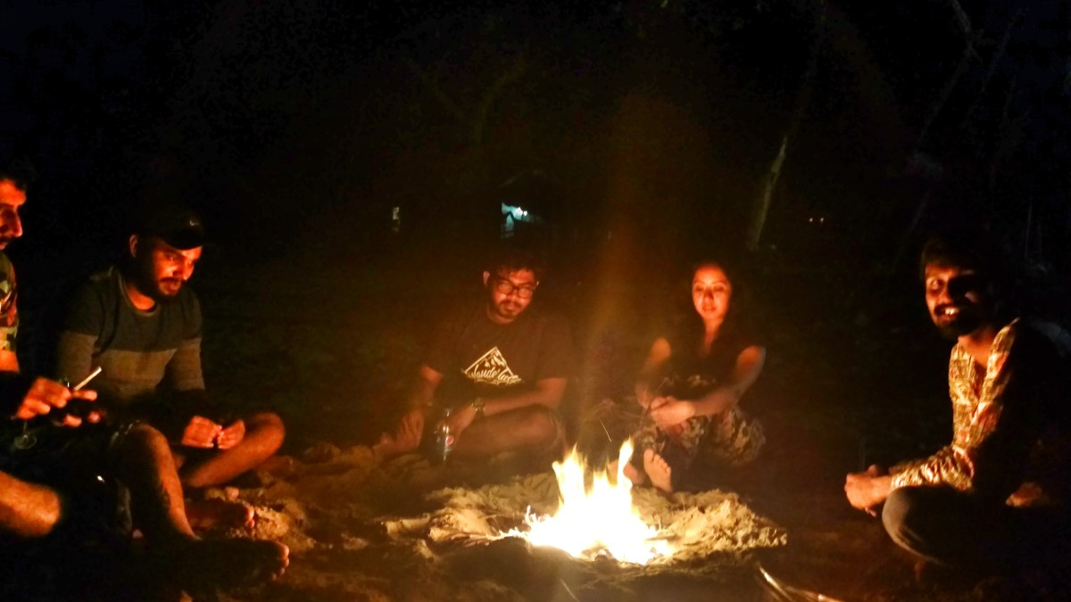 Camping By The Beach: Revdanda