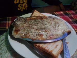 Sea food Lasagna