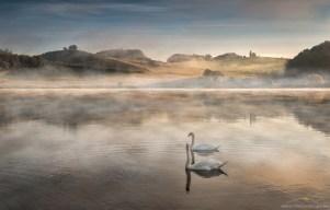 Perniško jezero, zjutraj