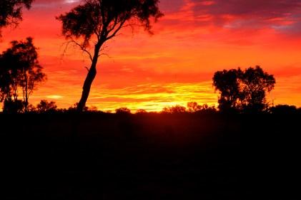 Arthur River Sunset, Outback Australia