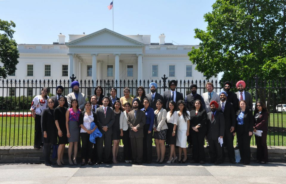 Sikhs visit the White House on Friday, June 8, 2012 (source: The Sikh Coalition)