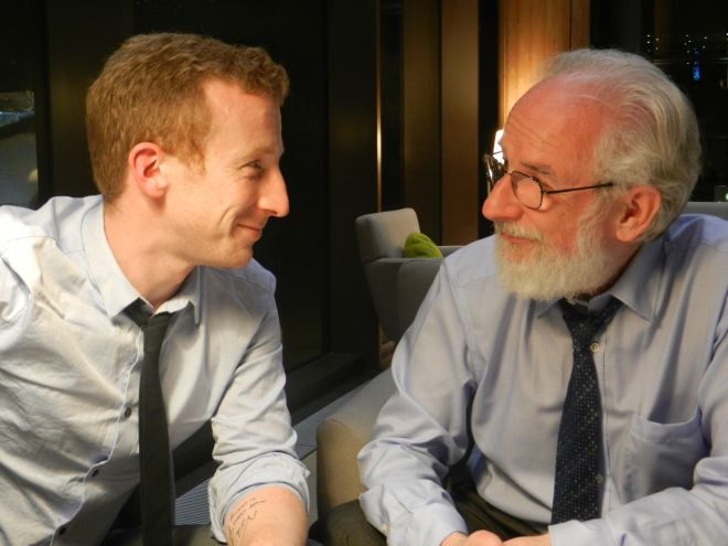 Ben Crystal and David Crystal in conversation about accents.
