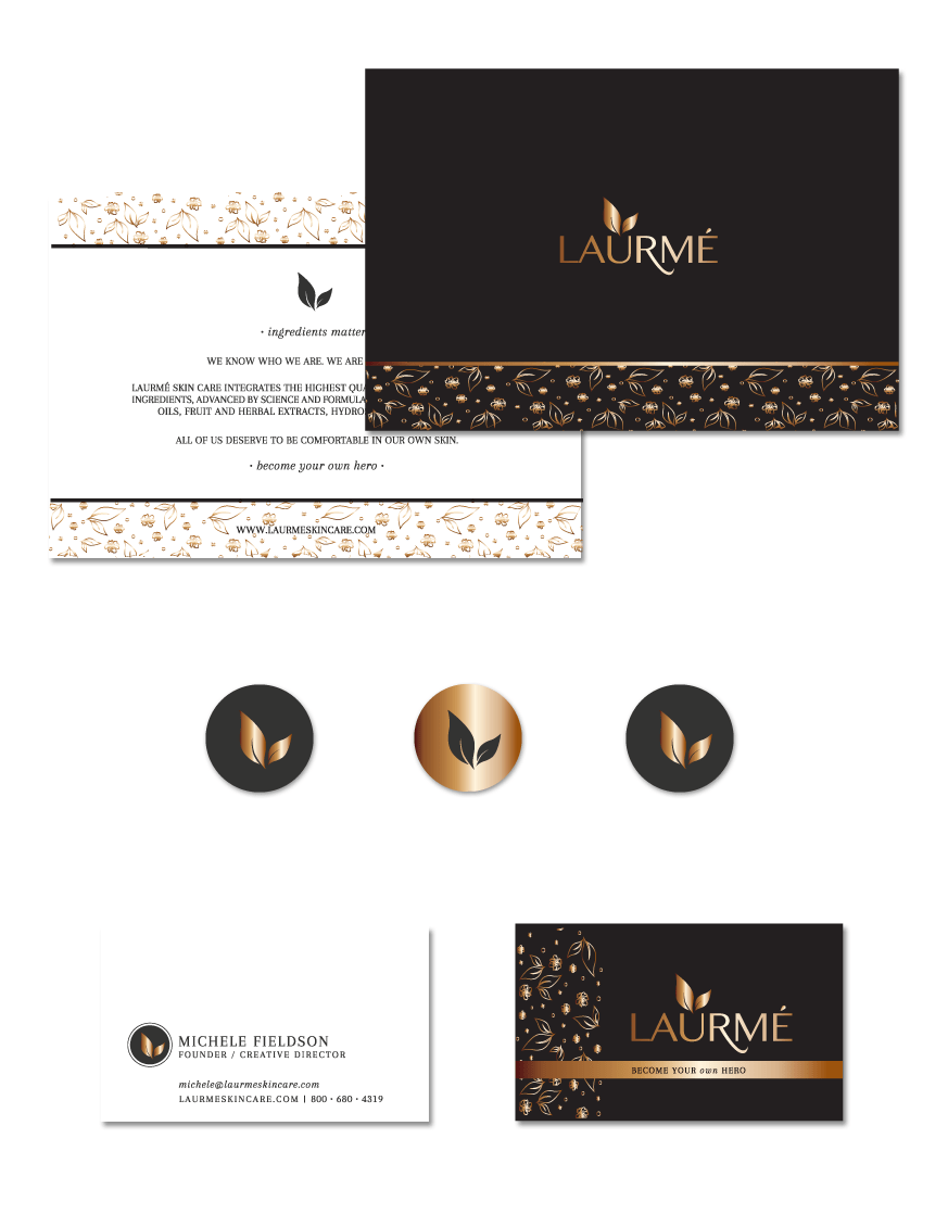 Laurme Skin Care | Stationery | thelanguidlion.com