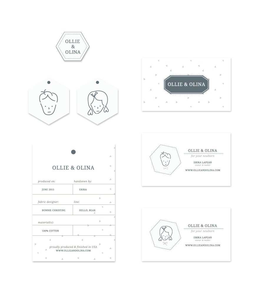 Ollie and Olina | Stationery | thelanguidlion.com