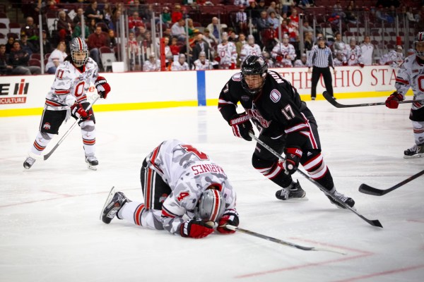 Ohio State men's hockey swept at home by Nebraska-Omaha ...
