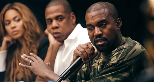 Image result for kanye west AND JAY Z TIDAL