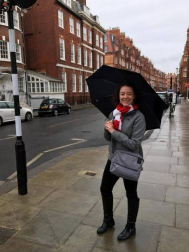 I may not be singing, but I was in the rain :)