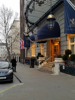 The Ritz: most expensive hotel in London