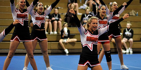 Competition Cheerleading: Cowboys Place 1st In FHSAA