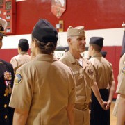 NJROTC Undergoes Area Managers Inspection