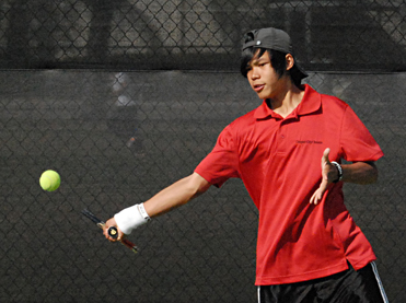 Tennis: Cowboys Defeat Nova High School
