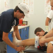 CCHS Athletes Get Wrapped Up In The New Trainer