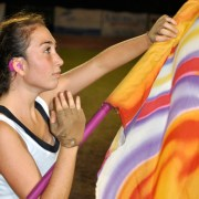 Ariel Doron Moves To Her Own Beat In Colorguard
