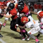 Varsity Football: Cowboys Beat South Broward In Their Homecoming Game