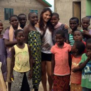 Senior Camille Traslavina Returns To Africa To Help Orphaned Children