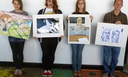 State Of The Art: AP Art Students Excel Creatively And Academically