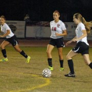 Girl's Varsity Soccer: Freshman Jemma Miller Scores Three Goals In First District Win