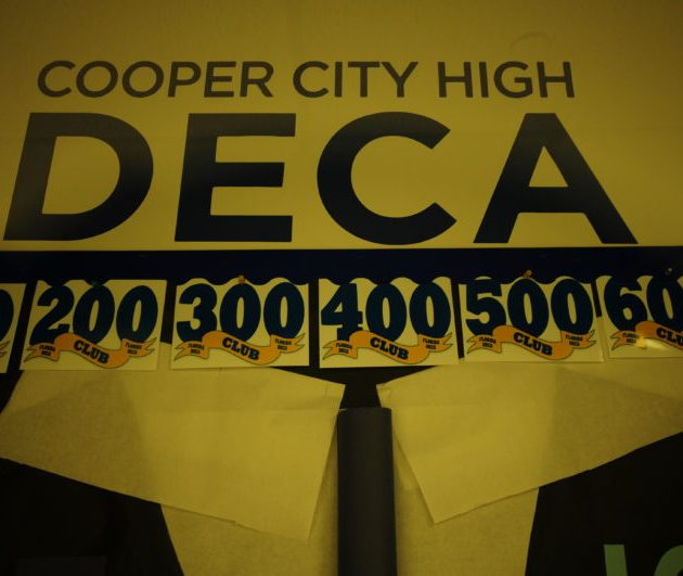 CCHS DECA Wins Numerous District Level Awards