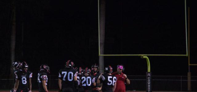 JV football: The JV Cowboys take on the Nova Titans