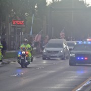 Sgt. Johnson's funeral held at Cooper City's Christ the Rock