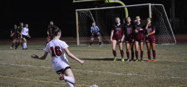 Girls Varsity Soccer: CCHS takes on Douglas High School