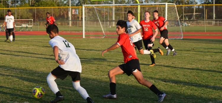 Boys varsity soccer: Team takes on Flanagan