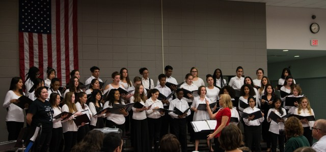 Beginning and advanced winter chorus bring holiday diversity to CCHS