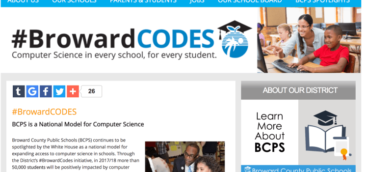 County-wide initiative to increase computer science in schools takes off