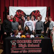 CCHS athletes commit to colleges across the state and country