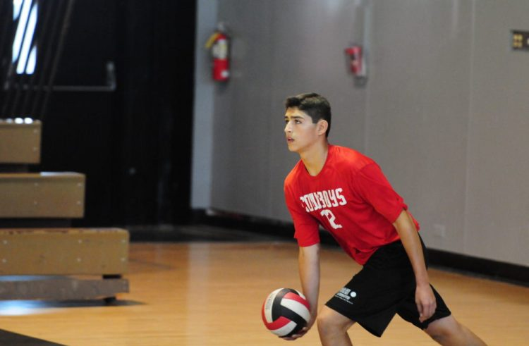 Boys Volleyball: The Cowboys face off against Pines Charter