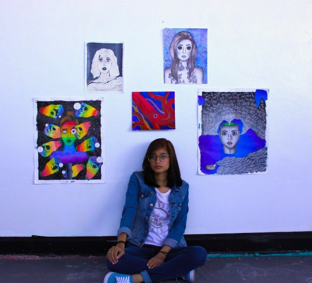 Painting over obstacles: AP Studio Art students find solace and beauty through their portfolios