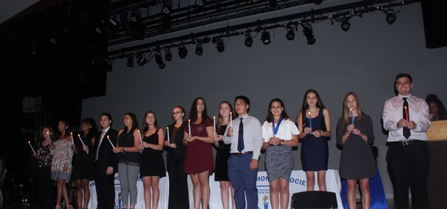 NHS welcomes incoming members, recognizes outgoing members
