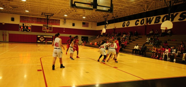 Girls varsity basketball: Lady Cowboys bounce back with a victory over Monarch