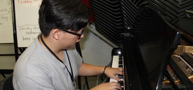 One student's symphony: Enrique Poveda