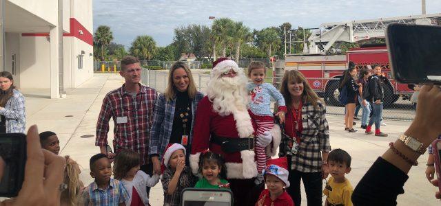 Santa, snow and songs: The Littlest Cowboys host their annual Winterfest