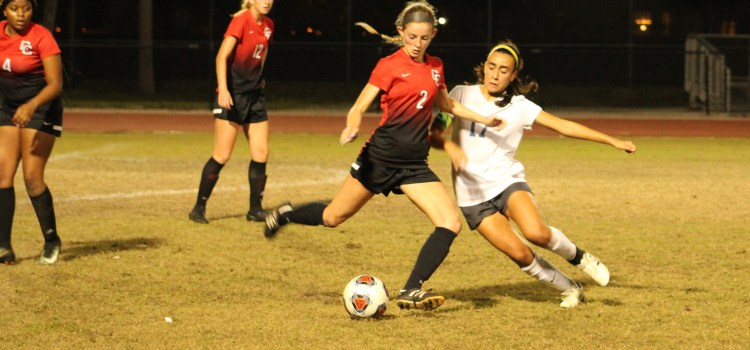 The undefeated season comes to an end for girls' varsity soccer