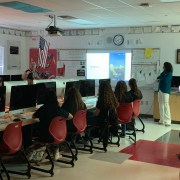 Spreading Facebook knowledge: Kyle Foster from Society of Professional Journalists visits CCHS