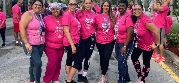 Walk for a cause: Renaissance Charter's fifth annual 7K breast cancer walk