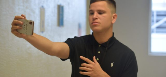 A love for the camera: Junior Brandon Robaina is taking to YouTube to show his talents
