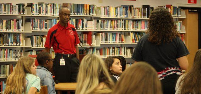 An open floor: Superintendent Robert Runcie visits CCHS to hear student concerns