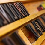 Letterpress studio in the W2 Media Centre