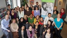 The diverse staff at the YWCA Metro Vancouver – Photo by Lisa Mendes