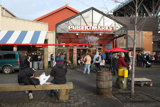 Entrance to the Public Market